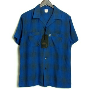 cootie-オンブレーチェックシャツ