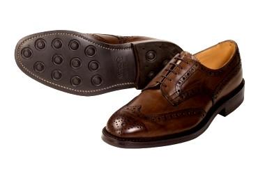 ソールがラバーの靴