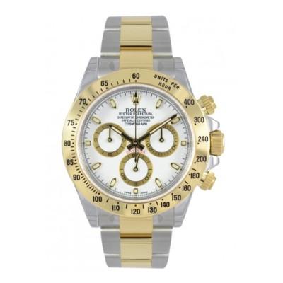 金とステンレススティールを使った腕時計