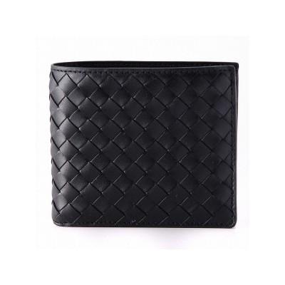 レザーの二つ折り財布