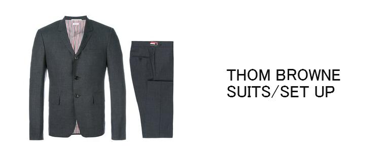 トムブラウン-スーツ・セットアップ