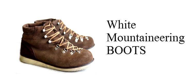 ホワイトマウンテアニング・ブーツ