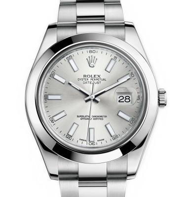 デイト-デイデイト機能付きの腕時計の写真