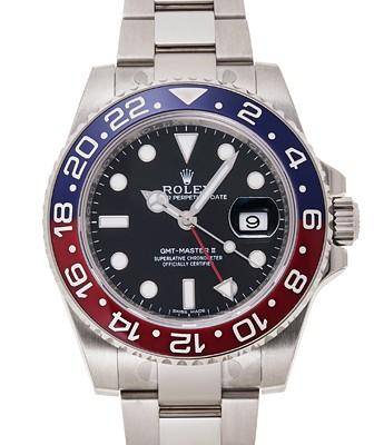 GMT機能が付いた腕時計