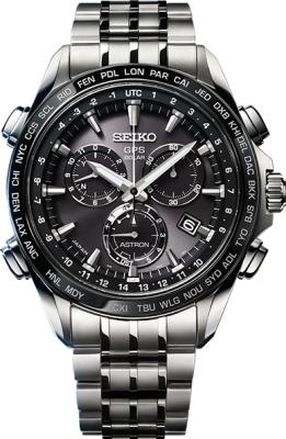 クオーツ式(電池式)腕時計の写真
