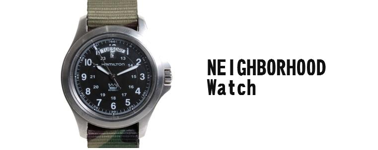 ネイバーフッド-腕時計