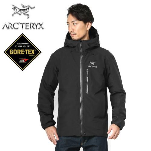 アークテリクスのジャケットを着た写真
