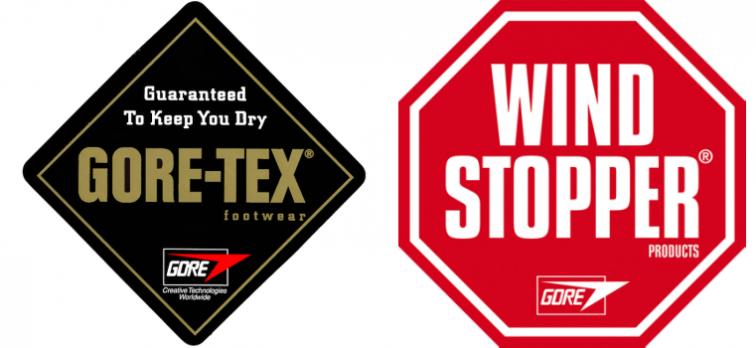 ゴアテックス・ウィンドストッパーのロゴ