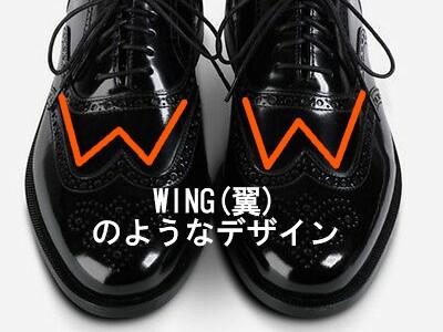 WING(翼)のようなデザイン